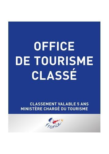 Image Panneau classement Office de tourisme