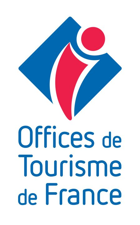 logo vertical offices de tourisme de France #OTF07